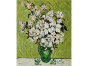 Van Gogh Paintings: Vase with Roses - Hand Painted Canvas Art
