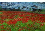 Van Gogh Paintings: Field of Poppies - Hand Painted Canvas Art