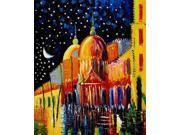 """Night - Classic 20"""" X 24""""- Hand Painted Canvas Art"""