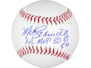 Mike Schmidt Signed Ball w/ NL MVP 80, 81, 86 - SM - JSA Certified