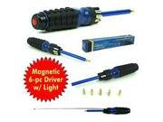 8 in 1 Multipurpose Lighted Magnetic Driver with Bits