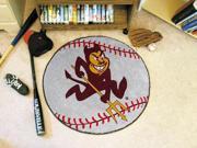 Arizona State Baseball Rug