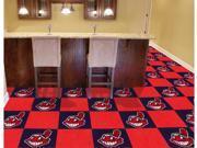 Cleveland Indians Carpet Tiles