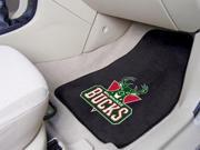 National Basketball Association Milwaukee Bucks  Carpeted Car Mats