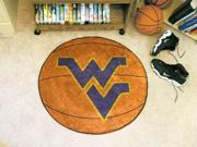 West Virginia Basketball Rug