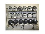 Wall Mounted Helmet Rack