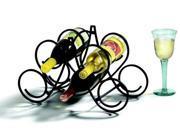 5 Bottle Scroll Wine Rack by Spectrum