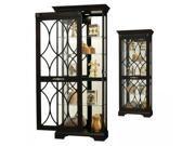 Roslyn Sliding Glass Cabinet - by Howard Miller