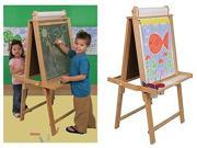 KidKraft Deluxe Wood Easel - Natural - 62005