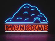 For the finishing touch to any man's space add the Man Cave Neon Sign