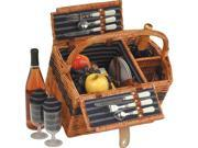 Lenox Two Person Picnic Basket - by Picnic Plus
