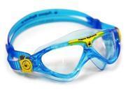 Aqua Sphere Vista Jr. Swim Goggle - Clear Lens - Aqua