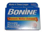 Bonine Chewable Motion Sickness Prevention for Scuba Diving or Snorkeling