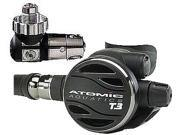 Atomic T3 First & Second Stage Scuba Diving Regulator - DIN