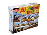 Melissa & Doug Alphabet Train Floor Puzzle