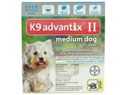 K9 Advantix II Dogs 11-20 lb 4 Pack (4 Month Supply)