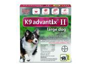 K9 Advantix II Dogs 21-55 lb 4 Pack (4 Month Supply)