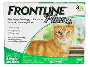 Frontline Plus for Cats 6pk (6 Month Supply)