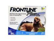 Frontline Plus for Dogs 23-44 lbs 12 Pack Genuine USA