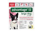 Advantage II for Dogs 21-55 lbs 4pk