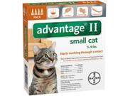 Advantage II for Cats 5 9 lbs 4pk 4 Month Supply