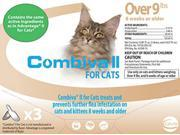 Combiva II Flea Treatment for Cats Over 9lbs 3 Doses
