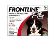 Frontline Plus for Dogs 89 132 lbs 3pk