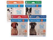 Use Spectra Sure IGR monthly for complete control of flea, tick and chewing lice infestations. Spectra Sure IGR kills adult fleas, flea eggs, flea larvae and prevents the development of pupae for up to three months. Apply monthly if your dog is at high risk for flea reinfestation. Apply monthly to control ticks, and chewing lice. Spectra Sure IGR remains effective, even after bathing, water immersion, or exposure to sunlight. Allow treated area to dry thoroughly. Do not reapply for 30 days. Type: Spot-Ons