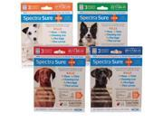 Use Spectra SureTM IGR monthly for complete control of flea, tick and chewing lice infestations. Spectra SureTMIGR kills adult fleas, flea eggs, flea larvae and prevents the development of pupae for up to three months. Apply monthly if your dog is at high risk for flea reinfestation. Apply monthly to control ticks, and chewing lice. Spectra SureTM IGR remains effective, even after bathing, water immersion, or exposure to sunlight. Allow treated area to dry thoroughly. Do not reapply for 30 days. For Dogs Weighing up to 22 lbs: Apply one tube (0.023 fl oz) (0.67 mL) as a spot on the dog's back between the shoulder blades. For Dogs Weighing 23 to 44 lbs: Apply one tube (0.045 floz) (1.34 mL) as a spot on the dog's back between the shoulder blades. For Dogs Weighing 45 to 88 lbs: Apply one tube (0.091 fl oz) (2.68 mL) as a spot on the dog's back between the shoulder blades. For Dogs Weighing 89 to 132 lbs: Apply one tube (0.136 fl oz) (4.02 mL) from the back of the neck to a point midway between the neck and tai Type: Spot-Ons