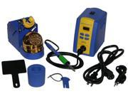 Hakko FX951-66 Professional Soldering Station Bundled with T15-D4 Chisel Tip. The Hakko FX-951 will surely turn heads when seen on your workbench. Includes Sleep Mode Stand Model FH200-01.