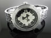 New Techno Master 12 Diamond Watch TM-2132 SS Band