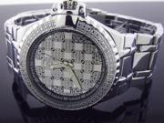 New Techno Master 12 Diamond TM-2124 SS Band 45MM Watch
