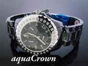 Ladies Techno Master 0.90CT Diamond 40MM Watch TM-2136