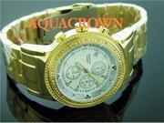 New Men's Aqua Master 20 Diamond Yellow Gold watch