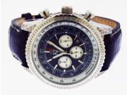 Techno Com By Kc Full Case Diamonds 50mm Blue Face Watch