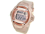 Casio Baby G Pink / Champaign Dial Women's Watch - BG169G-4