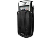 BlackBerry Curve 8310 Pantum Vertical Pouch Case (Black)