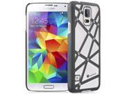 GreatShield [SLIM FIT] Samsung Galaxy S5 Case - TACT Bolts Design Pattern Rubber Coating Ultra Slim Fit Hard Cover for Samsung Galaxy S5 - Retail Packaging