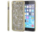 """Vena TACT Quill Design Rubber-Coated Polycarbonate HardCase Cover for Apple iPhone 6 (4.7"""") - Gold"""