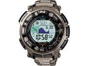Casio PRW2500T-7C Titanium Multi-Band 6 Atomic Triple Sensor Solar Pathfinder ProTrek Digital