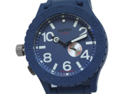 Nixon A236-307 Stainless Steel Case Blue Tone Dial Blue Rubber Strap 300M