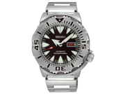 Seiko SRP307 Superior Diver Stainless Steel Case and Bracelet Black Dial Automatic Day and Date