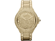 Michael Kors Camille Swarovski Crystal Encrusted Gold Ion-plated Watch MK5720