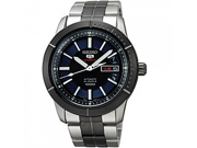 Seiko 5 Blue Dial Two Tone Stainless Steel Mens Watch SRP343