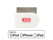 "EZOPower ""Apple Certified"" 30 Pin Dock Connector to Micro-USB Adapter for Apple iPhone 4 4G 4S 4GS 3G 3GS, iPod Touch Nano Video Classic - White"