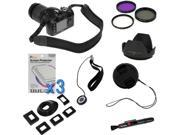 GTMax 10 Items Accessories kit for Nikon D5000, D3000, D3100, D5100 D800 D800E(with 18-55mm, 55-200mm, 50mm f/1.8D NIKKOR Lenses), Canon EOS 60D, 7D, T4i, T3i, T2i(with EF 50mm f/1.8 II Lens)