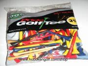 "Pride Golf Tee 2 3/4"" 3 x 50 ct bags Birch Std Mix"