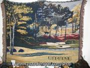Augusta Golf Tapestry/Throw Amen Corner Great Gift NEW