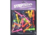 "Stepstixx Golf Tees 2 1/8"" 50 ct Mixed Colors"