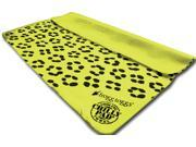 Frogg Toggs Patterned Chilly Pad Yellow Leopard